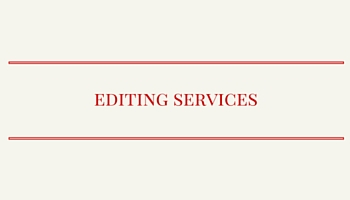 Editing and Workshop Services